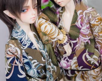 Kikusaki Yukata Set | SSDF, SD, MSD | Bjd Clothing