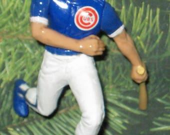 Rare Ryan Sandberg Chicago Cubs Ornament NEW Mlb Upic 17