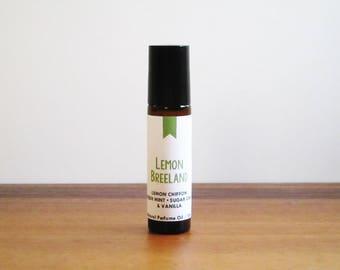 LEMON BREELAND / Lemon Chiffon Fresh Mint Sugar Cane & Vanilla / Tv Inspired / Hart of Dixie Collection / Roll-On Perfume Oil