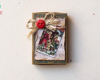 Little Christmas Box / Vintage Box / Christmas Matchbox / Personalized / Santa Claus / Christmas & Christmas box | Etsy Aboutintivar.Com