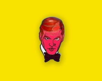 James Bond, Spy Who Loved Me Enamel Pin - James Bond Movie Lapel Pin
