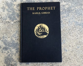 The Prophet, Illustrated,  Kahlil Gibran, 1949, 53rd printing