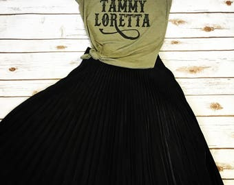 Dolly and the Girls, Patsy Cline, Dolly Parton, Loretta Lynn, Country Womens Shirt, Cute Womens Shirt, Country Legends, Dolly Shirt, TShirt,
