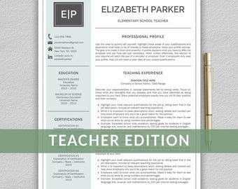 cv teaching