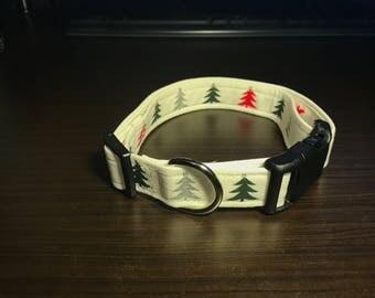 "1"" Holiday Collar- Fabric"