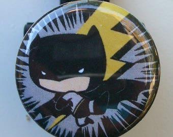 "DC Chibi/Pop/Funko ""Batman"" badge reel"
