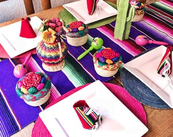 Serape table runner, mexican table runner, fiesta decorations, mexican party decorations, fiesta party decorations, mexican fiesta