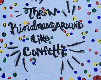 Kid President: Kindness Like Confetti