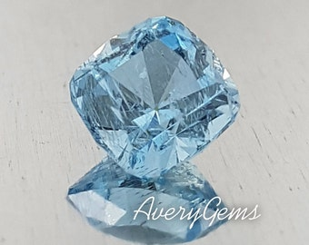 Aquamarine 1.7 Ct Loose Gemstone Natural For Engagement Ring Aquamarine Ring Pendant Precious Gemstone Precision Cut By AveryGems