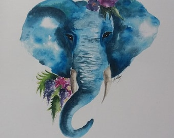 Shae's Elephant Print
