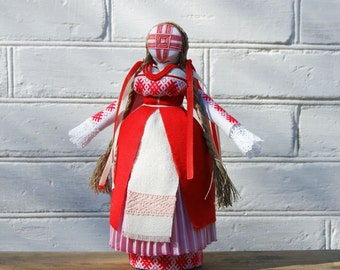 Motanka Handmade Ukrainian Ethnic Folk Traditional  Doll Unique decorative gift with meaning for her, Gift for Family , OOAK