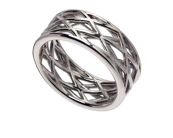 Vega Ring - Sterling or Gold Plated