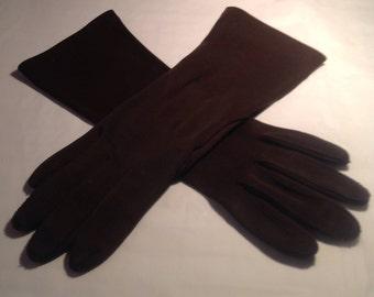 Vintage Brown Gloves
