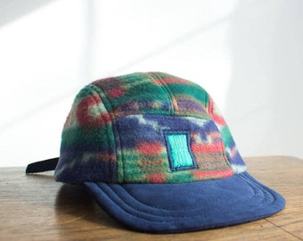 THE NOSTALGIC WINTERCAP 2 - Winter Collection 2018 - Handmade and recycled 5 panels hat