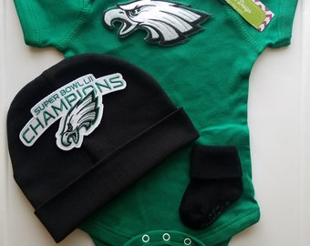 Philadelphia eagles baby etsy philadelphia eagles baby outfitphilly eagles babynewborn eaglesny philly eagles baby negle Image collections