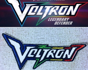 Voltron: Legendary Defender Iron On Patch