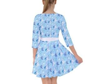 Popplio Dress - Smock Dress Pokemon Dress Brionne Dress Pokemon Evolutions Dress Pokemon Sun and Moon Primarina Dress Plus Size Cosplay