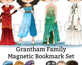Grantham Family Magnetic Bookmark Set