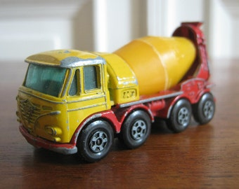 """Matchbox car from the 70s, model no. 21 """"Foden Concrete Truck"""""""