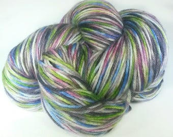 IMPRESSED, Hand Dyed Fingering Weight Sock Yarn, Pastel Sock Yarn, Hand Dyed Yarn, Indie Dyed Yarn, Hand Painted Sock Yarn