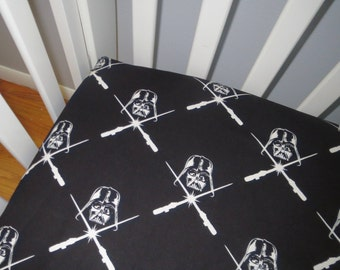 Star Wars Darth Vader Glow in the Dark Fitted Crib Sheets