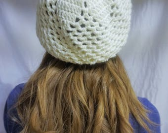 Flower Slouchy Hat