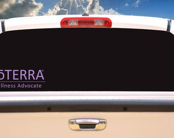 Doterra Essential Oils Business logo- Car Vinyl Decal