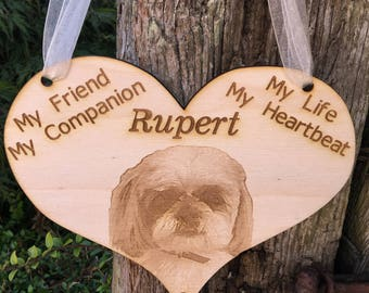 Pet Memorial Plaque, Pet Memorial Sign, Dog Memorial Sign, Memorial of My Dog, Dog Lover Memorial, Memory of my Dog, Memory of my Pet
