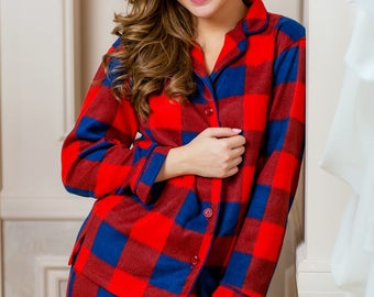 Fleece Warm Pajama Set Hot