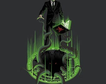 Love the Craft T-shirt / Lovecraft Tee / Cthulhu / Horror/ Literature/  Necronomicon / Free Shipping worldwide
