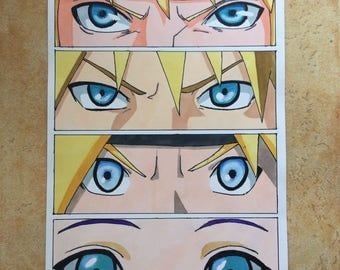Naruto Blue Eyes ORIGINAL