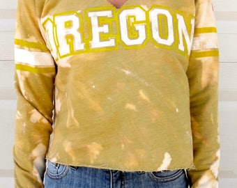College Cropped Sweatshirt (University of Oregon)