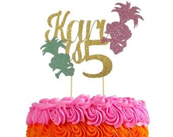 Troll Cake topper, troll birthday cake topper, troll birthday, Troll birthday decorations, Trolls,Personalized birthday cake topper