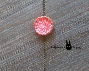 Strawberry tart bracelet