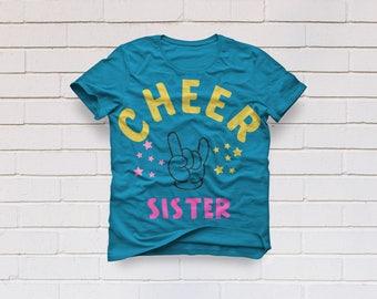 Cheer mom svg, Cheer sister svg, Cheer svg, Cheerleader svg, Sister svg, SVG Files, Cricut, Cameo, Cut file, Clipart, Svg, DXF, Png, Eps