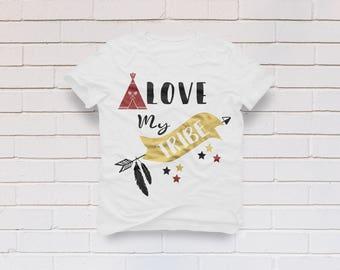 Love my Tribe svg, Tribe svg, Valentine's Day svg, Family svg, Tribal svg, Arrow svg, Family Tribe svg, Cricut, Cameo, Svg, DXF, Png, Eps