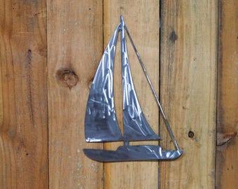 Metal Sailboat