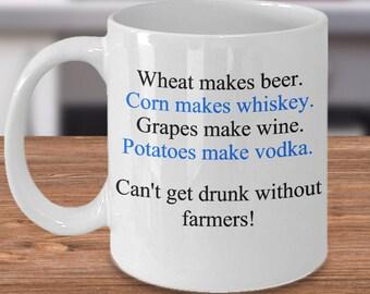 Funny Farming Mug, Gift for Farm Owner, Coffee Mugs Farm, Present for Farmer, Farmer Owner Mug, Farming Gift, Gift for Farmer Friend