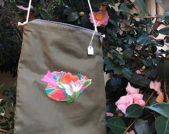 Floral Embroidered Bag