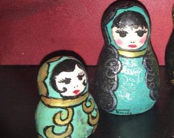 """Matriochkas collection """"dark"""""""