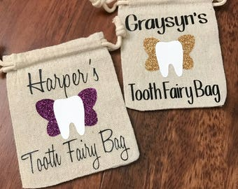 Tooth Fairy Bag, Tooth Bag