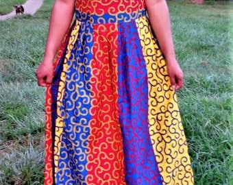 African multicolored Skirt