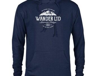 Wander Ltd National Park Adventure Unisex French Terry Hoodie