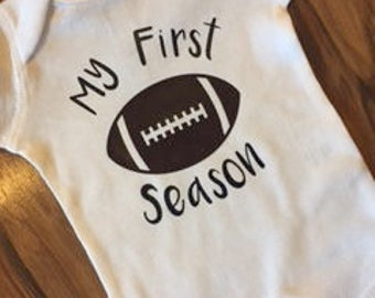 My First Football Season Onesie