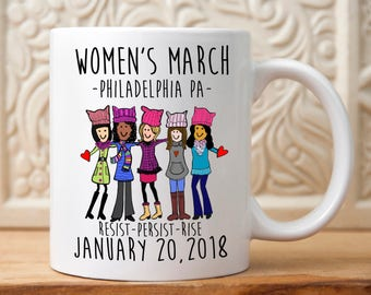 Womens March Philadelphia, March for equality , March to the polls, Sister March, Womens rights, feminist, Gay rights, equal rights