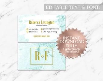 Mint|Business Cards|RF Business Cards|Rodan and Fields Business Cards|Rodan and Fields|Rodan Fields|R and F | Business Cards Only