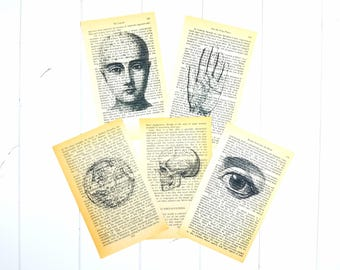 Spiritual Vintage Pages / Vintage Ephemera / Ephemera Pack / Junk Journal Kit / Vintage Book Pages