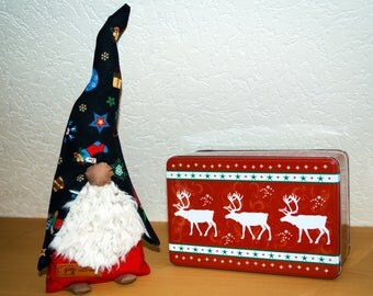 Christmas Elf. Handmade. Height: 32 cm