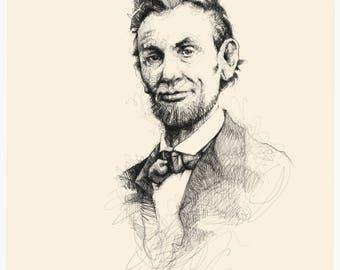 Historical portrait (Lincoln)