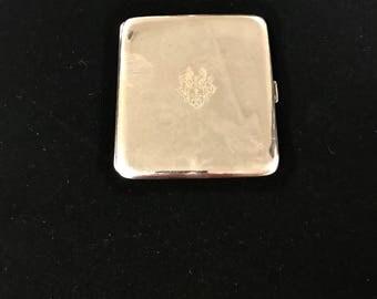 900 Silver Gentleman's Cigerate Case